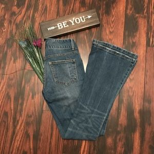 Free People Flare Jeans Size 26
